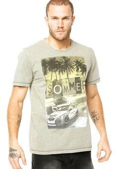 Camiseta Sommer Mini Grand Prix Cinza - Compre Agora | Sommer Brasil