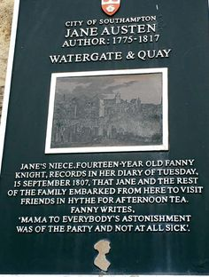 Why not follow in Jane Austen's footsteps and visit Hythe.