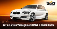 Yaz Aylarının Vazgeçilmezi BMW 1 Serisi Sixt'te
