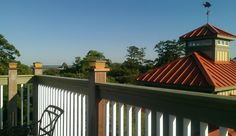 Widow's Walk Rooftop View at The Inlet Sports Lodge - Murrells Inlet, SC - 1  mile south of the Marshwalk/Marina