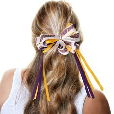 Northern Iowa Panthers Women's Logo Loop Bow with Streamers - $9.99