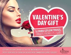 Treat Yourself with a Free Valentinesgift by #ezflow ! Claim your free #trugel #gelpolish @naildiscount (orders from £75...