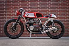 M Customs Honda CB550