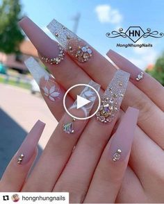 your success is our reward Ugly Duckling Nails Inc. - your success is our reward Ugly Duckling Nails Inc. Nails Inc, Aycrlic Nails, Glam Nails, Bling Nails, Bling Nail Art, Rhinestone Nails, Beauty Nails, Beauty Makeup, Face Makeup