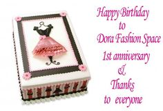 Happy Birthday to Dora Fashion Space & My Best Outfits