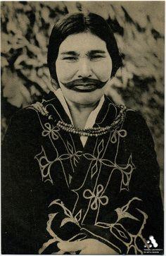 Ainu woman, Hokkaido