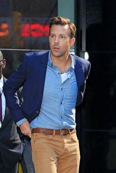 Jason Sudeikis is my menswear fashion icon