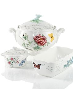 Lenox Bakeware, Butterfly Meadow Collection - Lenox - Dining & Entertaining - Macy's