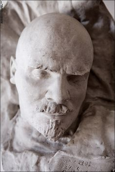 Vladimir Ilyich Lenin died after suffering a series of strokes at his home in Gorki. Well-known sculptor Sergey Merkurov was asked to produce the death masks.