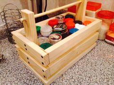 DYI: Caja de madera para condimentos