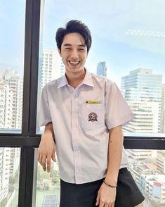Handsome Faces, Chef Jackets, Thailand, Men Casual, Actresses, Actors, Boys, Model, Mens Tops