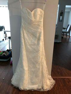 53d54e218afc Beaded Sheath Wedding Gown #fashion #clothing #shoes #accessories  #weddingformaloccasion #weddingdresses (ebay link)