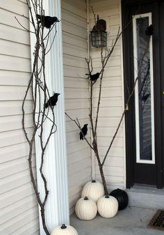 20 Stylish Black And White Halloween Ideas