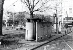 Urinoir op Taxi standplaats Eendrachtsplein?