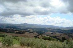 Пейзаж Казале Мариттимо Тоскана