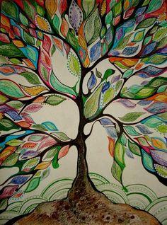 Multicolored Tree