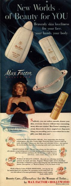 Corinne Calvert appeared in Max Factor ad. Description from pinterest.com. I searched for this on bing.com/images