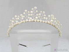 pearl crown - Google Search