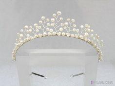 pearl crown - Google Search