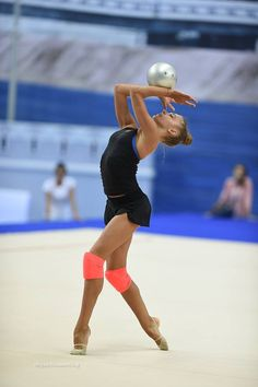 Alexandra SOLDATOVA (Russia) ~ Training Ball routine @ WC Kazan 2016  Photographer Oleg Naumov.