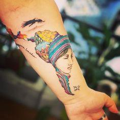 Resultado de imagen para tatuaje america latina