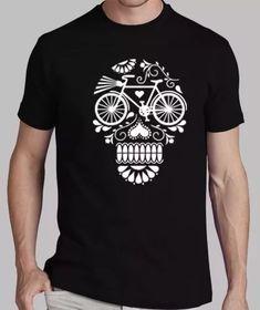 7056a17a3e Playera Yazbek Para Caballero Edición Calavera Ciclismo -   214.44