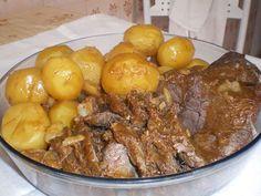 carne assada em panela de pressão