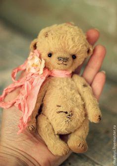 Амбер(13 см) - мишка тедди,тэдди,медвежонок,медвежонок тедди,медведь тедди
