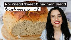 Beetmas #8 How to make No-Knead Sweet Cinnamon Bread