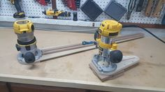 Small router circle jig