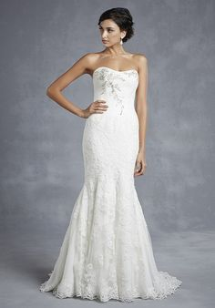 Blue by Enzoani Hyde Wedding Dress - The Knot