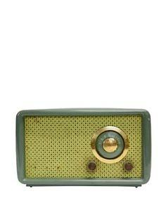 Vintage Montgomery Ward Airline Radio, Sage/Leaf Radio Design, Montgomery Ward, Potpourri, Sage, Radios, Crystals, Televisions, Computers, Vintage