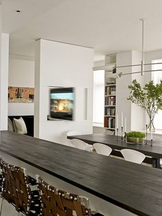 I'm blown about this semi-open-plan living/dining/kitchen space, | Weekly Faves: 5 Inspiring Spaces! | POPSUGAR Home