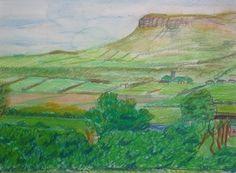 Joseph M Dunn, View in Sligo from my cousins house on ArtStack #joseph-m-dunn #art