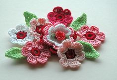 crochet. These are super easy once you get the hang of them /do one.