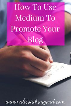Why you should use Medium as another avenue to pro…