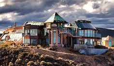 The HIVE...part of our on-campus housing for Earthship Interns and Academy students. Photo Credit: Earthship Biotecture