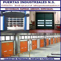 PUERTAS INDUSTRIALES AUTOMATICAS en MADRID