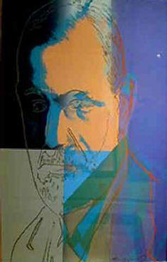 Sigmund Freud, 1980-Andy Warhol - by style - Pop Art