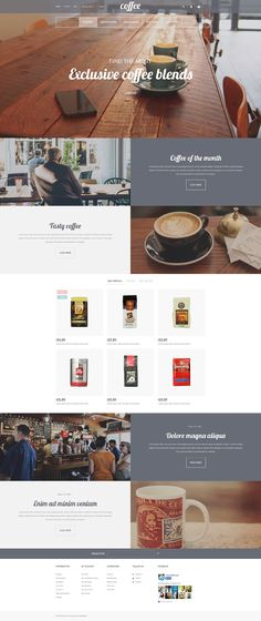 Coffee Shop Responsive PrestaShop Template http://www.templatemonster.com/prestashop-themes/56108.html?utm_source=pinterest&utm_medium=timeline&utm_campaign=cofprsh