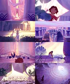 Non-Disney movies - color meme6. Prince of Egypt - violet