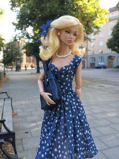Poppy and her new dress !   by swedishCass