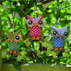 Little Owl pattern - Heatherworks
