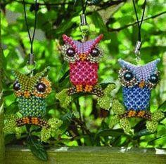 Little Owl pattern - Heatherworks