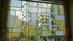 Textile Courses, Creative Textiles, Prayer Flags, Patchwork Patterns, Boro, Window Coverings, Fabric Art, Textile Art, Blinds