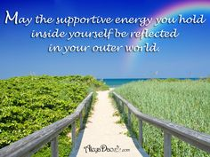 "Energetic Weather Advisory Quote for the day: May the supportive energy you hold inside yourself be reflected in your outer world. www.cupsofconsciousness.com ""Like"" and Follow my Facebook page for the latest info: https://www.facebook.com/CupsOfConsciousness/ #mindfulness #consciousness #meditation #quote #tranquility #PositiveQuotes #healing"