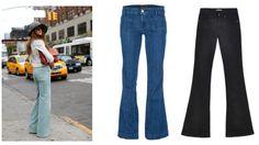 Para una figura tipo reloj de arena se complementa perfecto con unos jeans de talle alto y bota ancha.