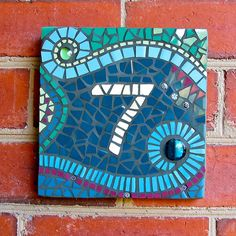 Rachael Sheppard - House Number | Ceramic Tiles, Glass Beads… | Flickr
