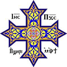 coptic cross.