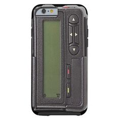 Cool iPhone 6 cases roundup on coolmomtech.com: Zazzle's 90s Pager iPhone 6 case